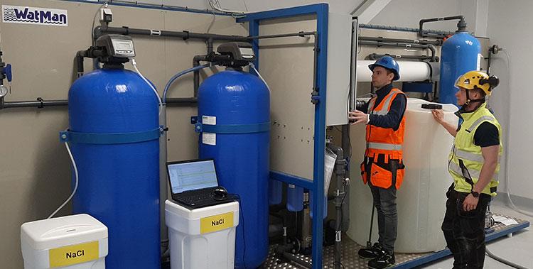 WatMan Engineering Ratkaisuja vaativaan vedenkäsittelyyn